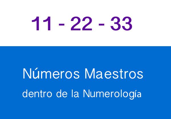 Números Maestros
