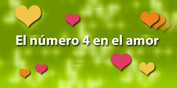 El número 4 en el amor