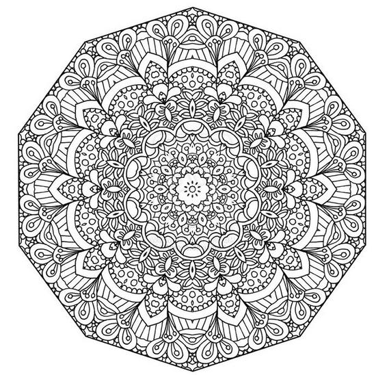 Plantillas de números para colorear
