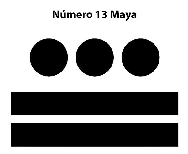 Número 13 Maya