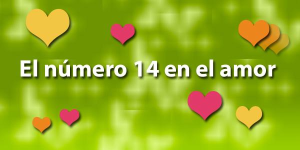Número 14 en el amor