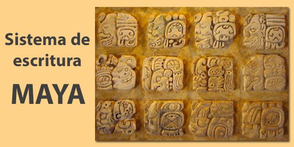 Sistema de escritura Maya